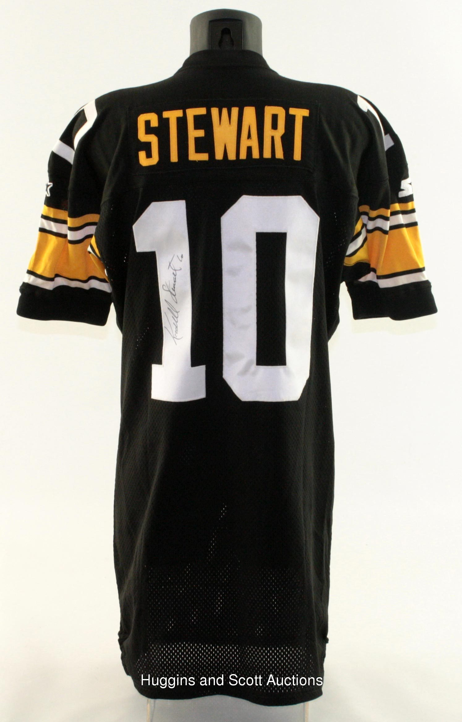 Kordell Stewart 1996 Pittsburgh Steelers Signed Game-Worn Home Jersey